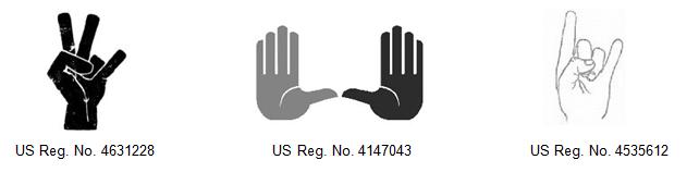 School Gesture Trademarks
