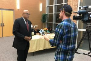 photo_david-tarver-being-interviewed-by-wnem-at-community-reception